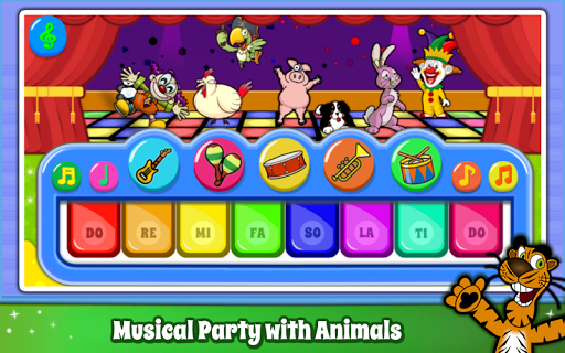 Baby Piano Games & Music for Kids & Toddlers Free 4.0 Screenshots 4
