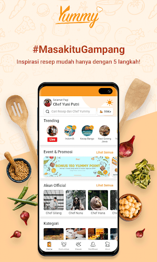 Yummy App by IDN Media - Aplikasi Resep Masakan 2.4.1 Screenshots 2