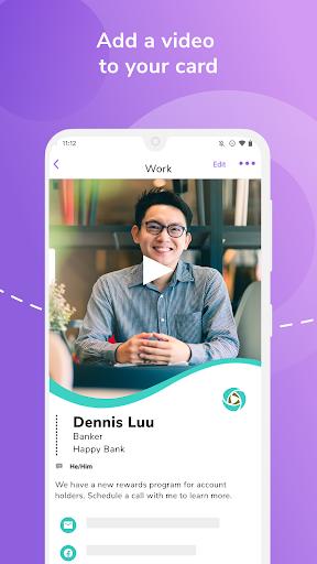 HiHello: Digital Business Card Maker and Organizer android2mod screenshots 5