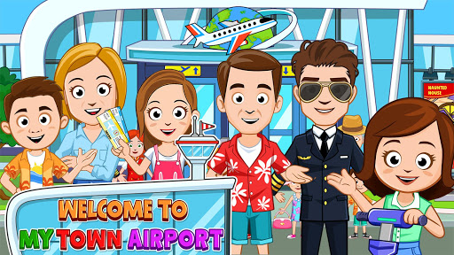 My Town : Airport apkpoly screenshots 1