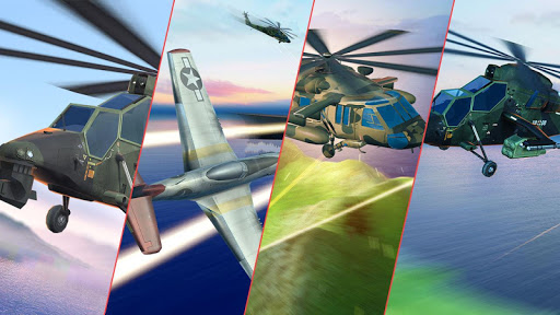 Helicopter Combat Gunship - Helicopter Games 2020 modavailable screenshots 11