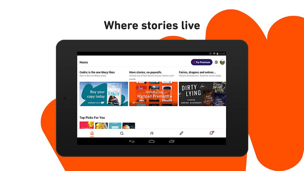 Wattpad - Read & Write Stories  poster 7