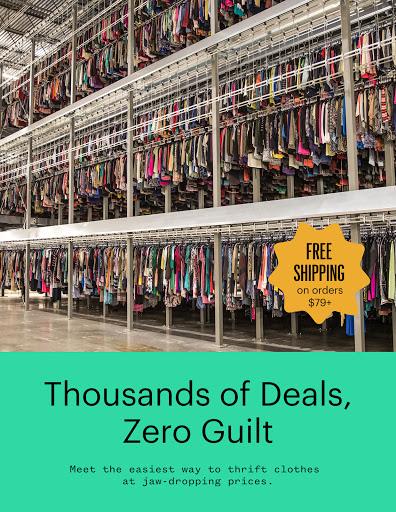 thredUP | Thrift & Sell Womenu2019s & Kidsu2019 Clothing modavailable screenshots 8