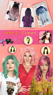Hairstyle Camera Beauty : Hair Changer Photo Edit 1.2 Screenshots 6