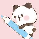Sticky Note Mini MOCHI MOCHI PANDA