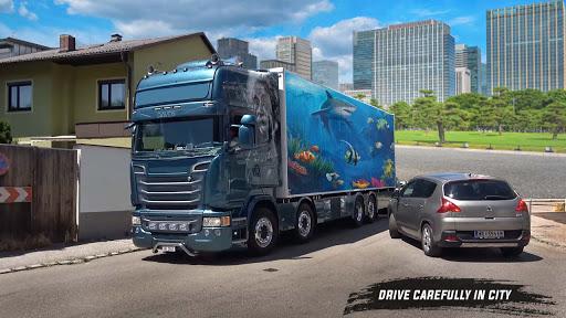 American truck driver simulator: USA Euro Truck screenshots 4