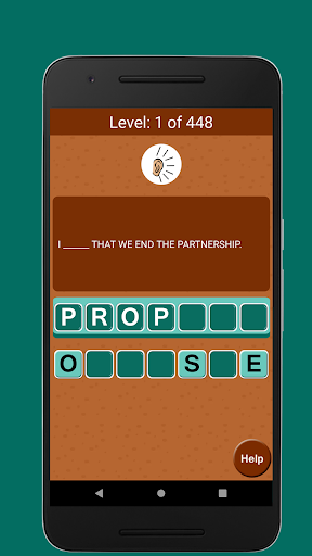 Jumble Word Game - Correct the Spelling 1.5 screenshots 7