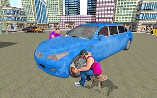 Modern Limo Car Wash Games: Limousine Driving Sim