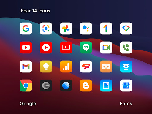 iPear 14 - Icon Pack
