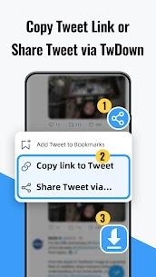 Video Downloader for Twitter – Save Twitter video Apk Download 2021 1