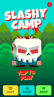 Slashy Camp - Endless Runner! Screenshot