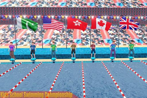 Kids Swimming Pool Water Race Championship 2020 0.1 screenshots 2