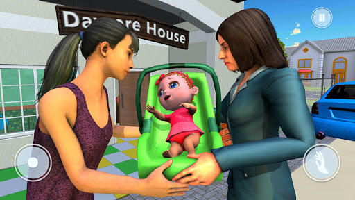 Mother's Office Job & Baby Life Simulator Screenshot 2
