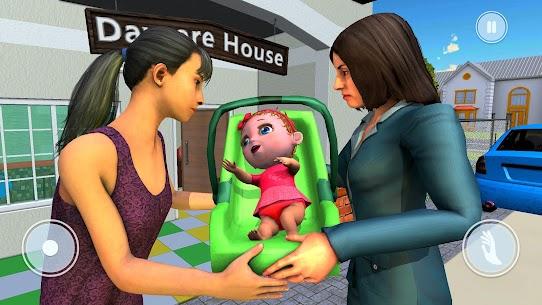 Mother's Office Job & Baby Life Simulator 2