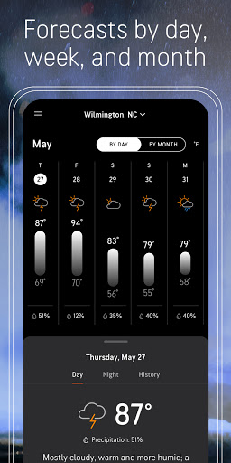 AccuWeather: Weather alerts & live forecast info android2mod screenshots 7