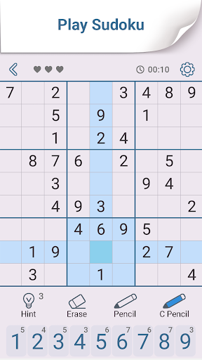 Sudoku: Free Brain Puzzles  screenshots 1