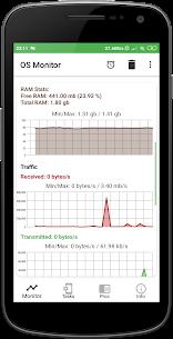 OS Monitor Mod Apk: Tasks Monitor (Premium/Paid Unlocked) 3