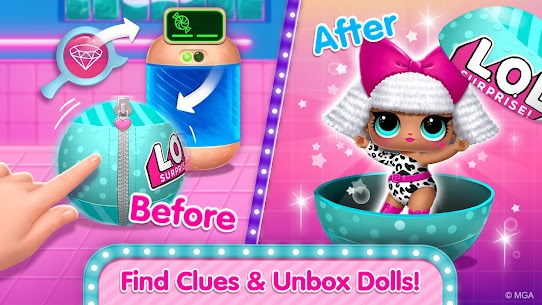 Free L.O.L. Surprise! Disco House – Collect Cute Dolls Apk Download 2021 4
