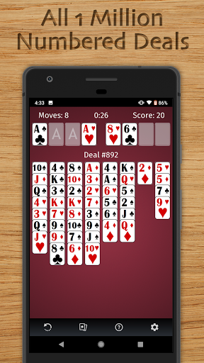 FreeCell Solitaire Free - Classic Card Game  screenshots 8