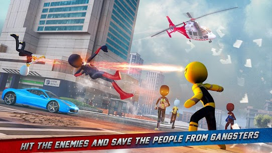 Stickman Ice Hero Crime City Mod Apk 1.6 (Ads Free) 8