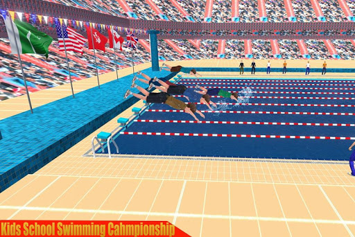 Kids Swimming Pool Water Race Championship 2020 0.1 screenshots 3