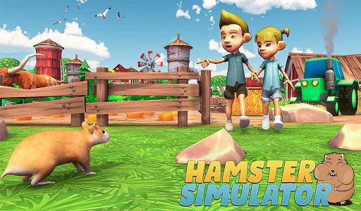 Hamster Simulator: Animal Game  screenshots 1