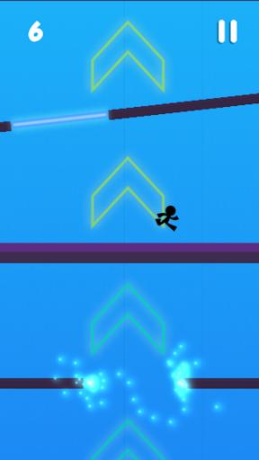 Stickman Jumper Blast  screenshots 2