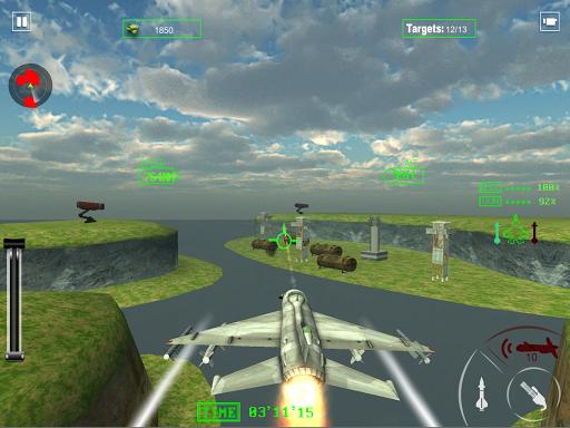 air force jet fighter combat screenshot 2
