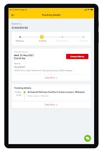DHL Express Mobile 2.6.0 Screenshots 8