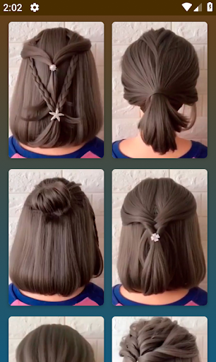 Hairstyles for short hair  Screenshots 2