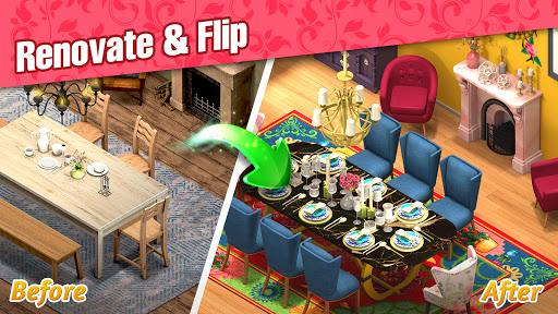 Room Flipu2122: Design Dream Home Makeover, Flip House apktram screenshots 9