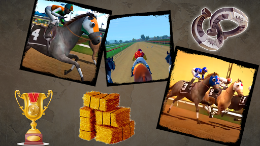 Jumping Horse Racing Simulator 3D  screenshots 5