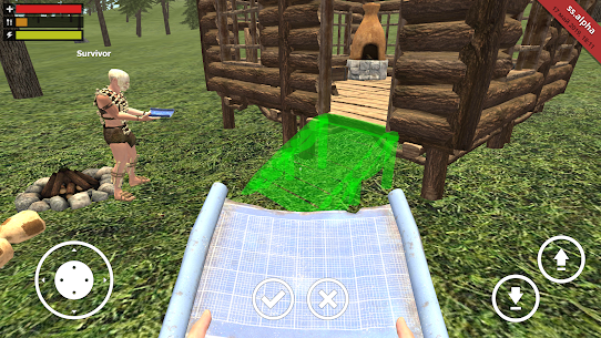 Survival Simulator MOD APK 0.2.2 (Unlimited money, dumb enemy) 4
