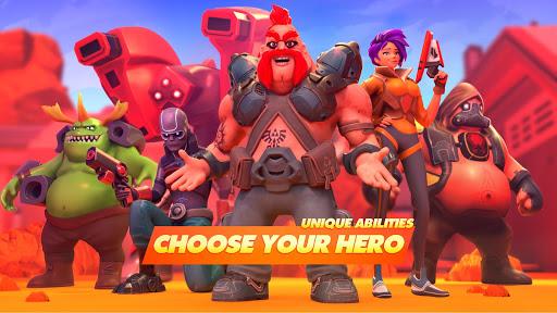 Mad Heroes - Battle Royale Hero Shooter screenshots 1