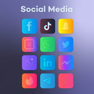 Gradient Icon Pack (MOD, Paid) v1.9 3