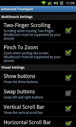 Foto do Advanced Touchpad Pro