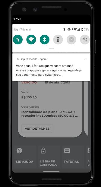 IspJet Mobile screenshot 1