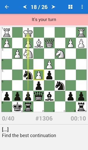 Chess Strategy & Tactics Vol 2 (1800-2200 ELO) 1.3.10 screenshots 2