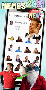 New Memes 2021 Stickers Screenshot