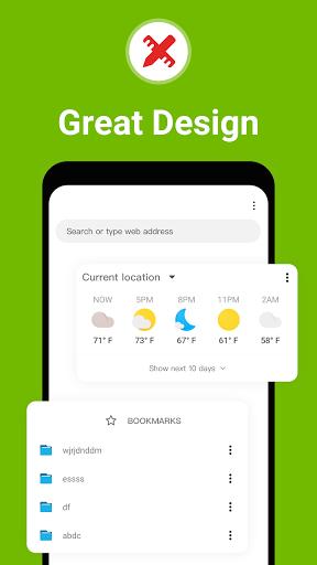Free Adblocker Browser:Adblock, Private, Incognito android2mod screenshots 8