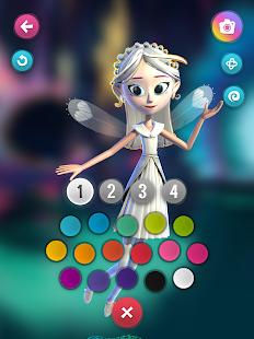 FairyTeens. Magic 3D Coloring