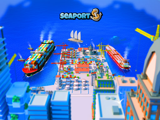 Sea Port: Cargo Ship & Town Build Tycoon Strategy 1.0.151 screenshots 8