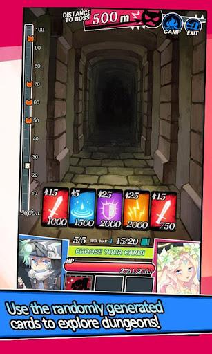 Dungeon & Girls: Card Battle RPG | Build your Deck  screenshots 2