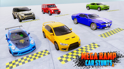 Crazy Car Stunts 3D - Mega Ramps Car Games  screenshots 14