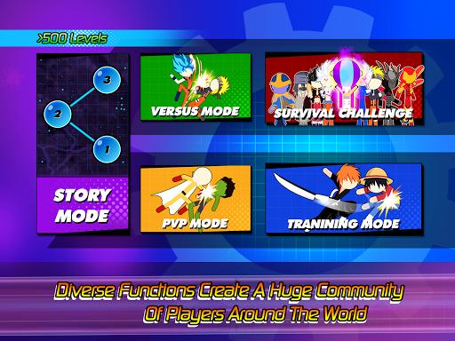 Super Stick Fight All-Star Hero: Chaos War Battle modavailable screenshots 21
