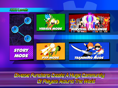 Super Stick Fight All-Star Hero: Chaos War Battle 2.0 Screenshots 13