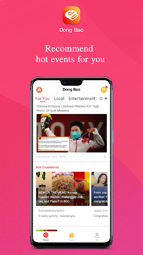 Dong Bao - discover trending event&people nearby  screenshots 1
