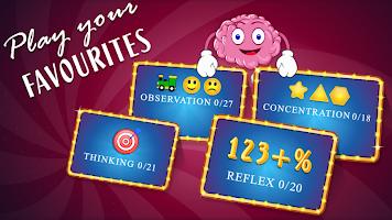 Brain Games Mind IQ Test - Trivia Quiz Memory
