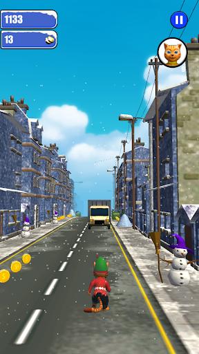 Leo Cat Ice Run - Frozen City screenshots 13