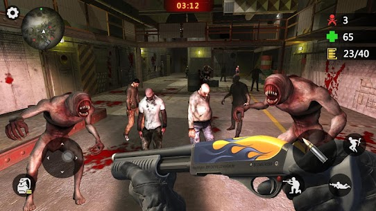 Elite Killer 3D Mod Apk: Zombie Offline Shooting (God Mode) 5